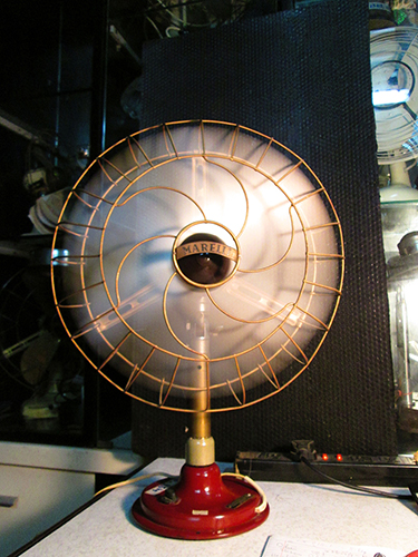 1920 - Italian Marelli Antique Desk fan