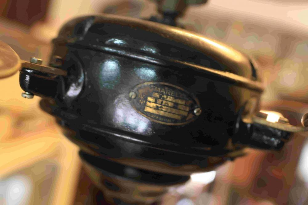 Ventilatore Antico da soffito Marelli - Boreale - 1930 Antique old electric fan