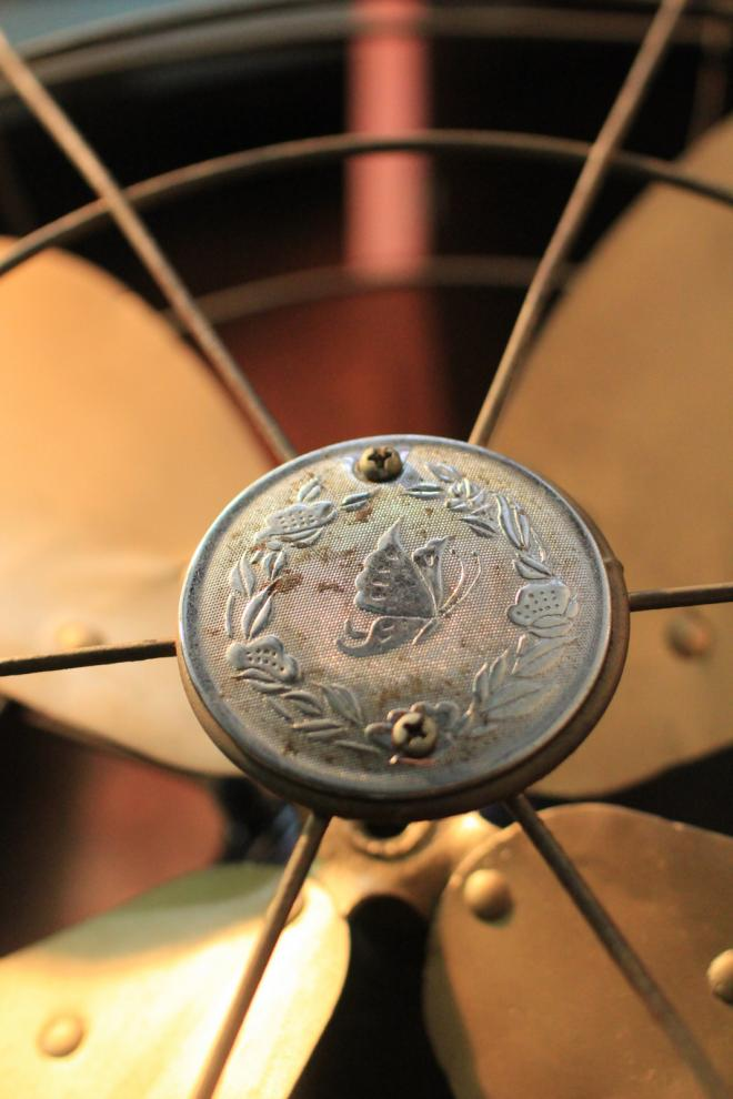 Marrelli Italy antique table fan 1929