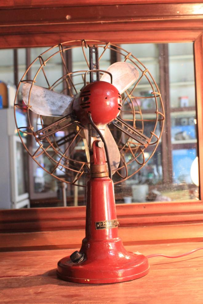 Marrelli Wind Mill antique fan