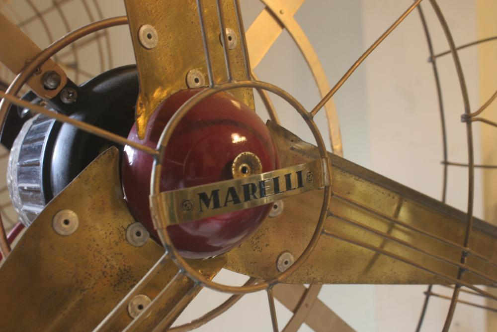 Big Marelli Vinatage Standing Fan