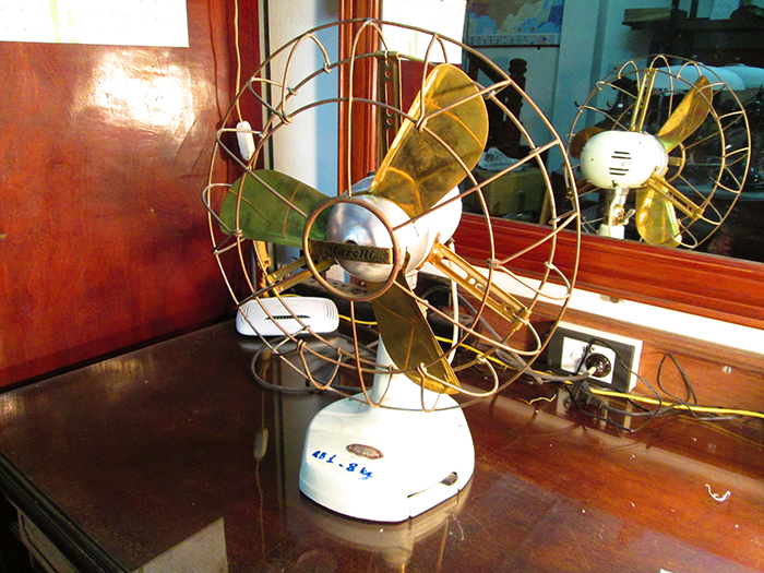 1910 - Italian Marelli Antique Desk fan