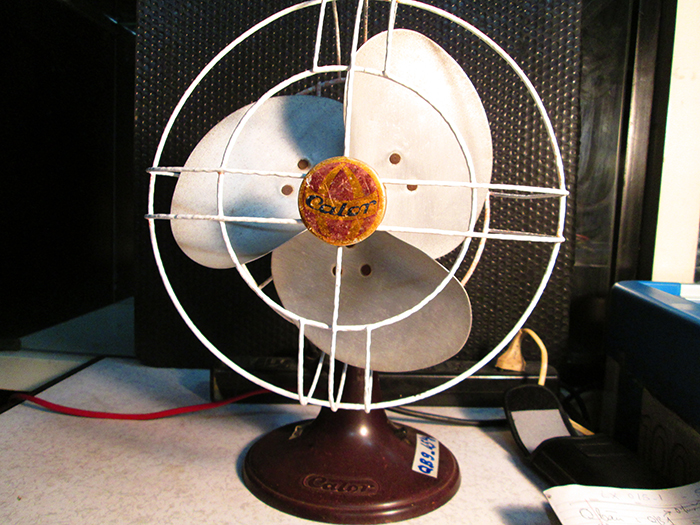 1930 - France Calor Vintage Desk fan