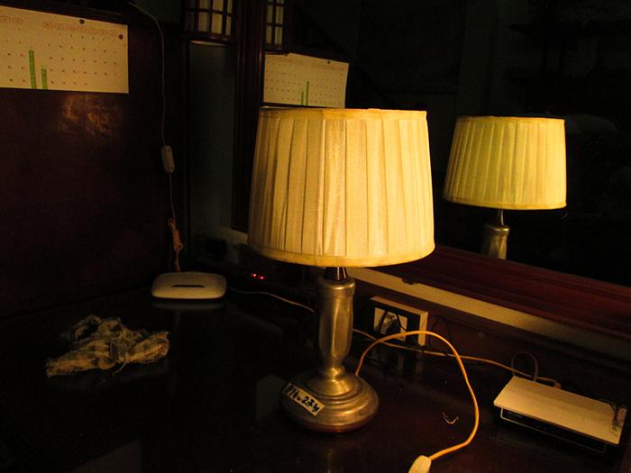 Sill White Lamp Light Alu Base