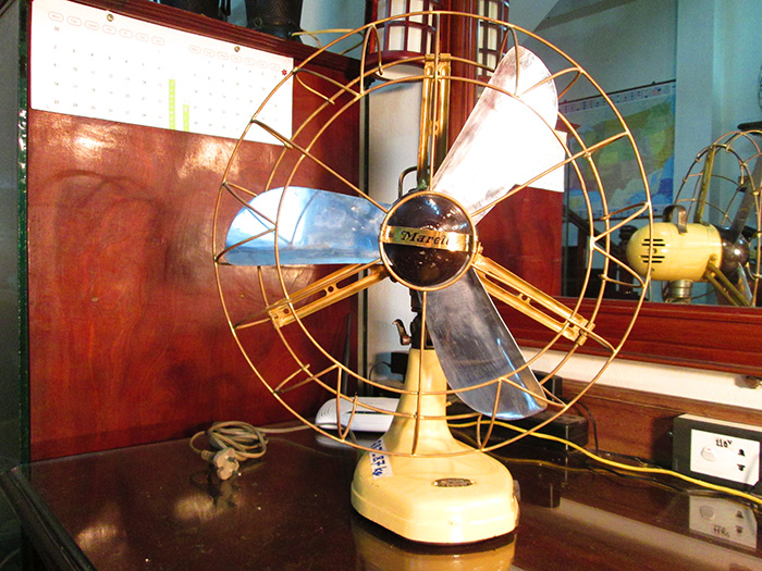 1910 - Italian Marelli Antique Desk fan