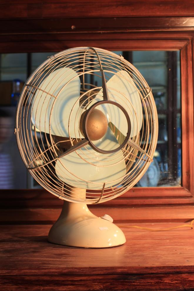 Vintage Table fan from Japan