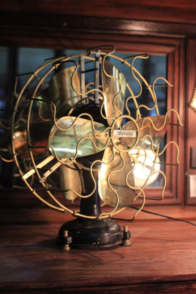 Antique Vintage table Fan Partners Electric Fan revised rare