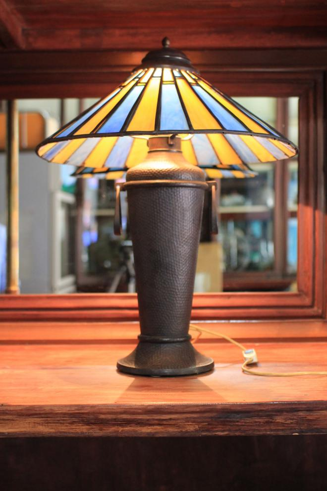 Umbrella copper Antique Lamp