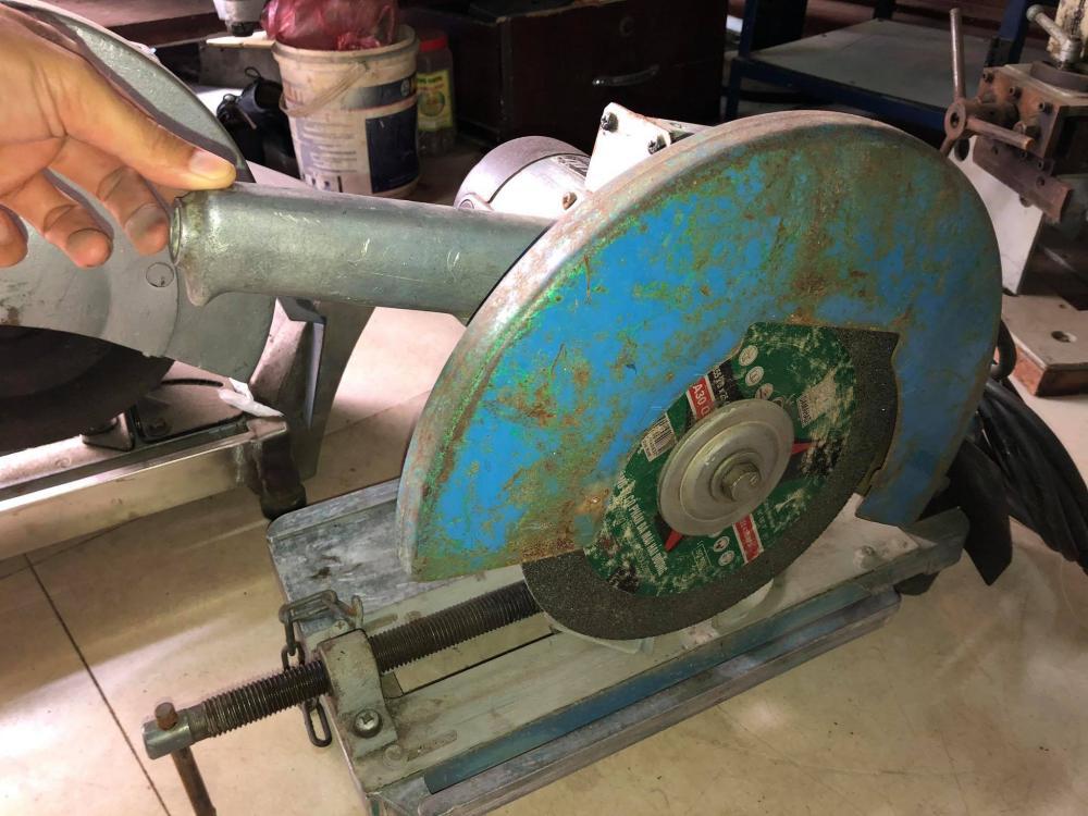 Máy cắt sắt bàn Nhật xuất Mỹ loại 3